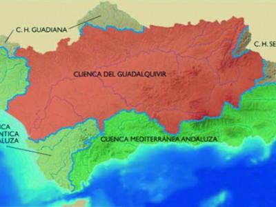 Cuencas hidrográficas Andalucía